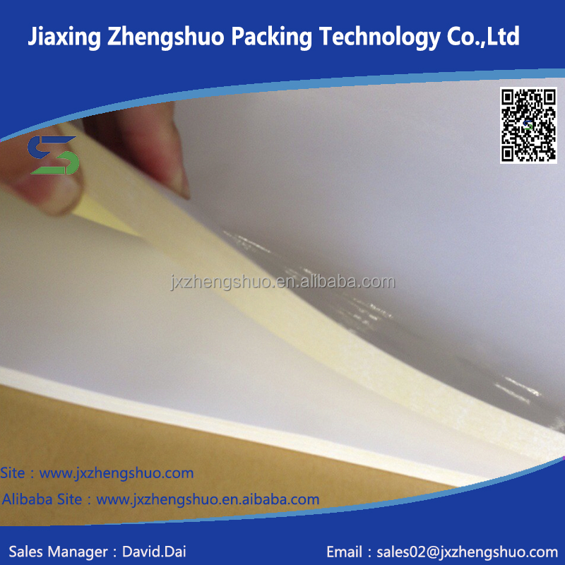 factory direct sale good price self adhesive labels material