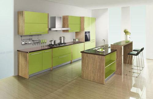 Kitchen Furniture Untuk Dapur Kecil Acrylic Modular Kabinet Gantung