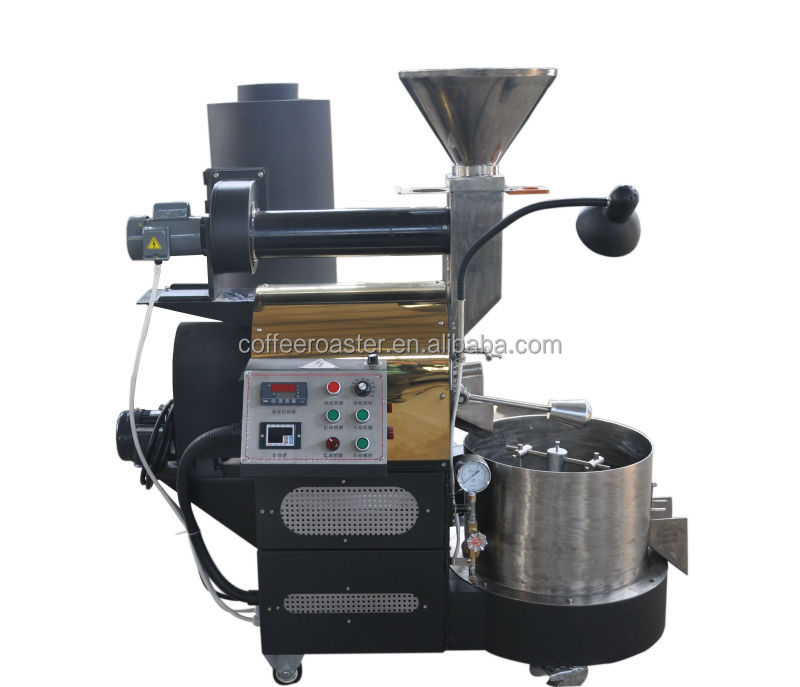 professional coffee roaster vender with high efficient 60 kg coffee roaster