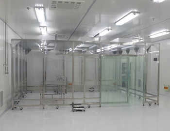 Softwall Clean Booth,movable ISO7 Class 10000 Modular Clean Room Part 87