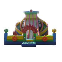 New design commercial customized sizes giant inflatable slide for sale