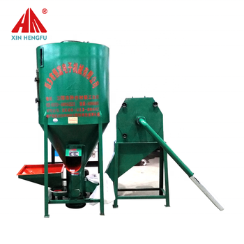vertical type pig feed maker 1 ton feed mixer grinder