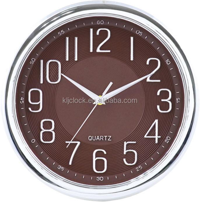 12 Pouces Non Coutil Silencieux Horloge Murale Moderne Et Beau