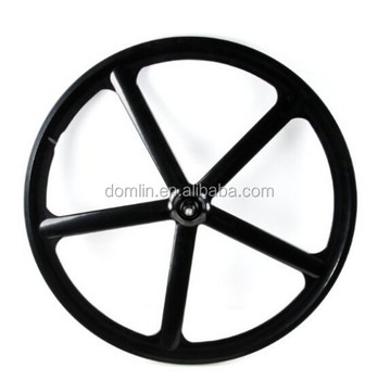 Cool Style 700c Integral Wheel 5 Spoke Fixed Gear Bike Wheel