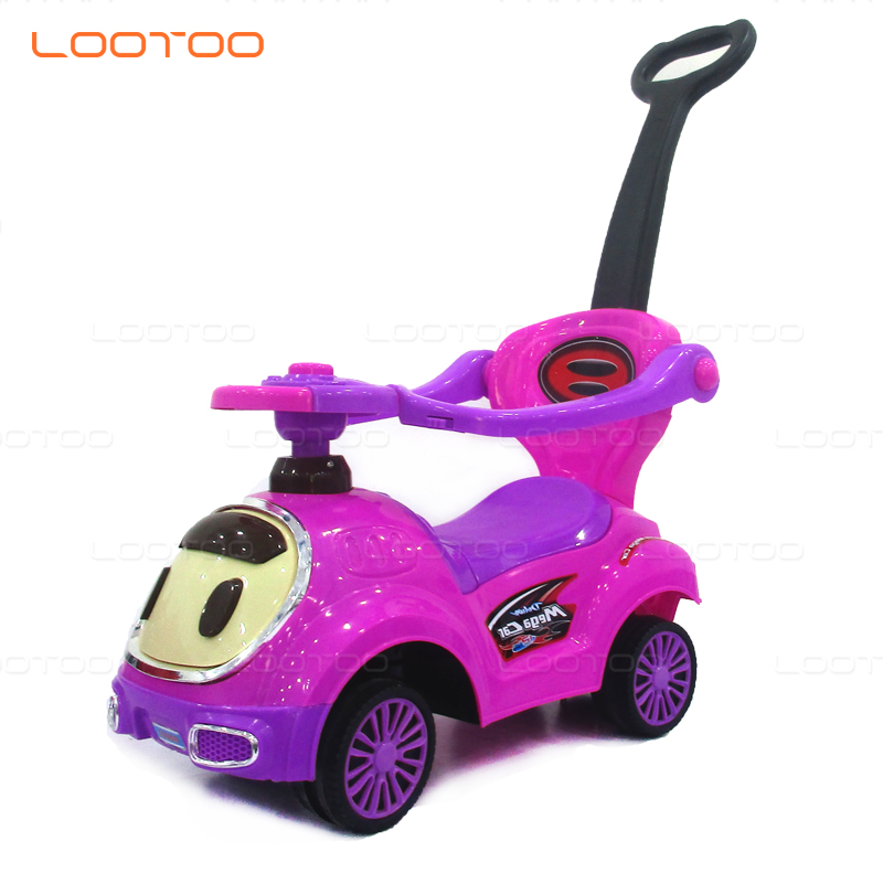 Factory new model mute wheels riding swing car kids toy for outdoor playing