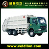 HOWO 6X4 garbage collector truck for sale