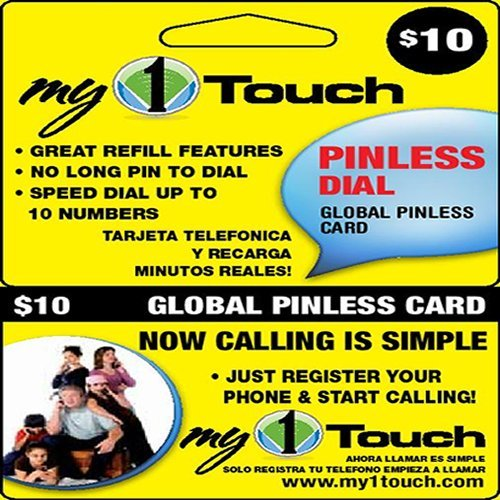get quotations my1touch prepaid pinless dial calling card - Pinless Calling Card