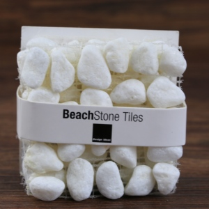 Bar accessories home, beach stone coaster, white tea coaster