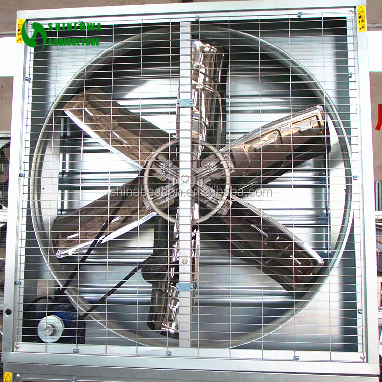 Good Quality Shuttered Push-Pull Type Ventilating Fan For Greenhouse/Poultry