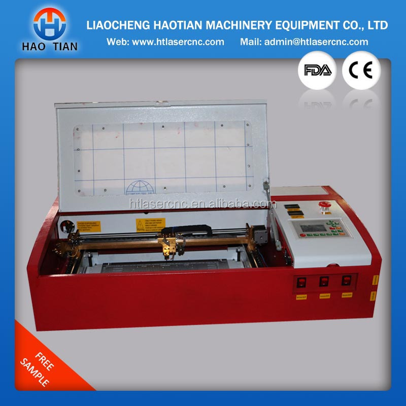 New design Update K40E DSP 512mb memory co2 40w desktop rubber stamp marking machine