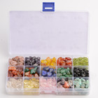 Wholesale Mixed Tumbled Stones Set Optional Crystal Gravel For Home Decor