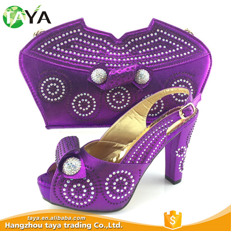 Special Design Widely Used African Nigeria Party Shoes And Bag Set Product On Alibaba