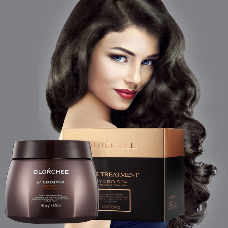 GMP Certification professional salon moisturizing & repairing natural collagen hair mask