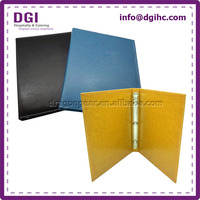 Factory machined eco-friendly fashion half inch 3 ring binders with multiple sizes