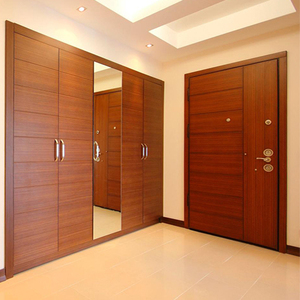 Prima interior door design PVC/MDF sliding wood door