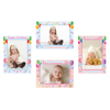 Own Design Beautiful Colorful Photo Frame PP Celebration Wall Stickers