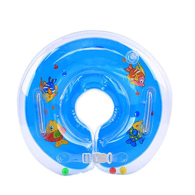 Nuoto Baby collo galleggiante bagno anello regolabile di sicurezza Aids 1-18M