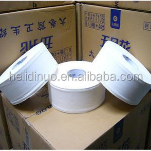 factory supply White virgin wood pulp Mini Jumbo Roll paper for hotel use with low price form china