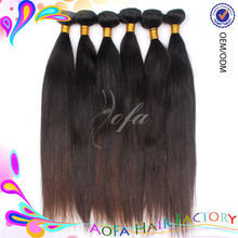 100% pure without chemical process virgin indian hair straight