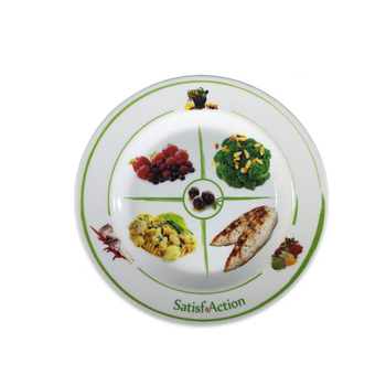China supplies healthy food grade diet guide plate for balanced nutrition