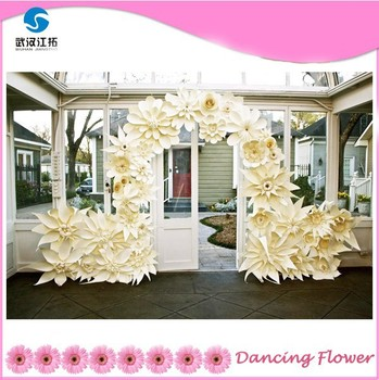 Wedding large paper flowers for door frame buy wedding paper wedding large paper flowers for door frame mightylinksfo Images
