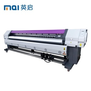 3 2m Large Format Billboard Eco Solvent Printer with Epson Dx8 Printheads