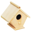 Hanging decoration high quality custom FSC lovely wooden bird insect house