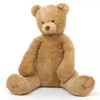 High quality soft large teddy bear 180cm stuffed animals