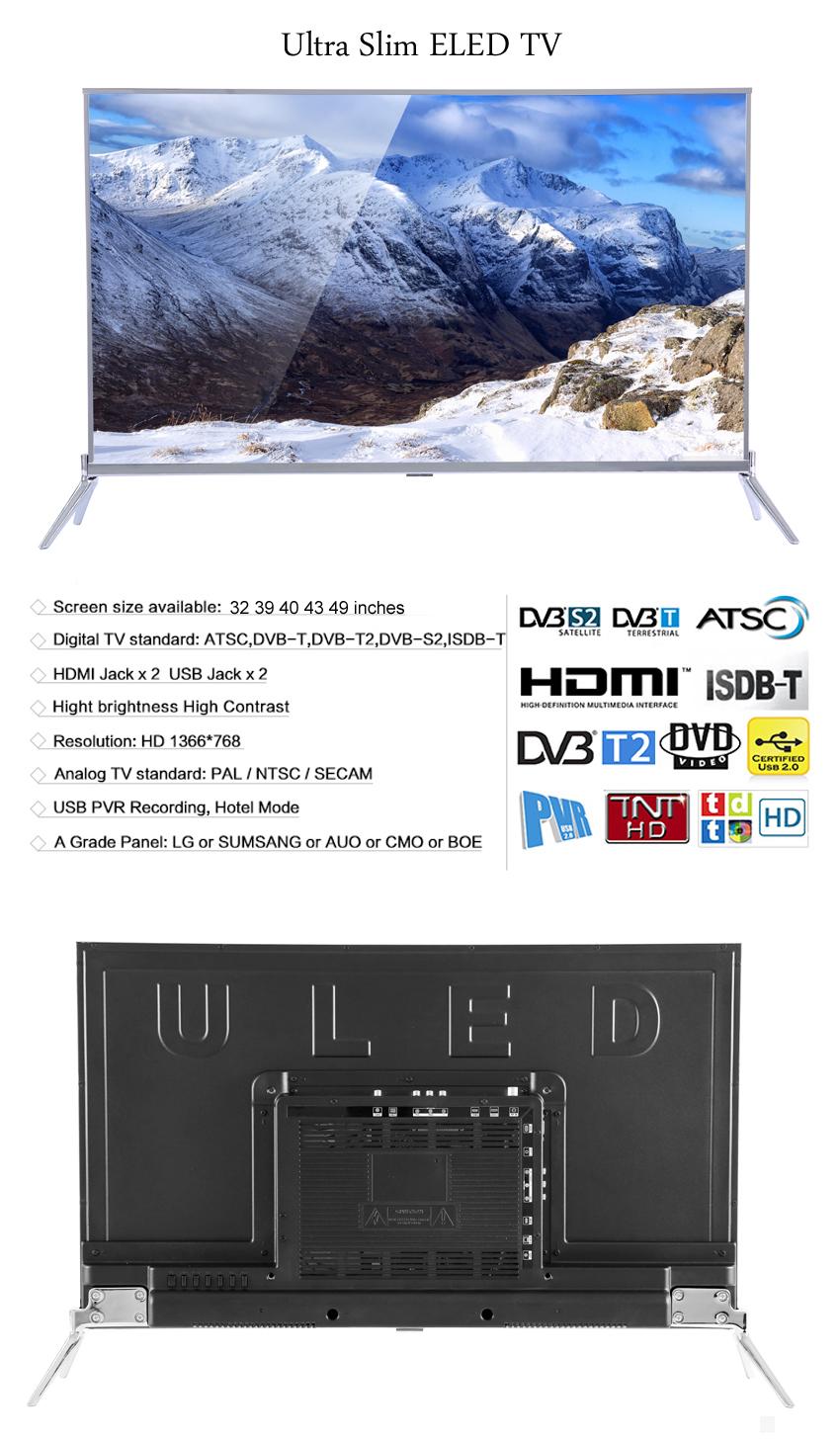 Vitek 32 39 43 Inch Arabic Adult Hd Big Flat Tv,Factory Direct
