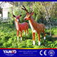 Attractive amusement park decorations FRP animal decorations used carnival games for sale