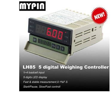 MYPIN IP67programmable weighing scale indicator and process controller for advanced weight data management (model:LM8-RRD)