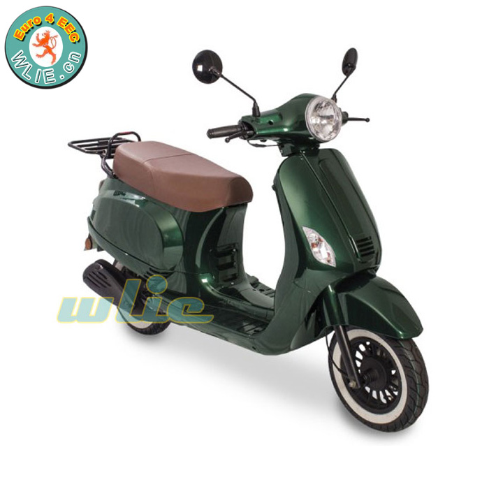 2018 New 150cc scooter 125cc 50cc 150 cc with eec certificate 50cc, Euro 4 (Maple)