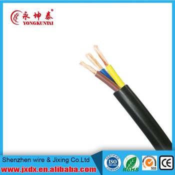 H05vv-f Pvc Insulated Flexible Electric Cable Different Sizes Of ...