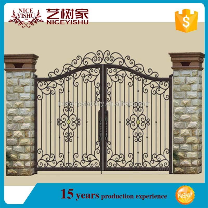 2015 Latest Main Gate Design Cheap Price Simple Modern House Steel ...