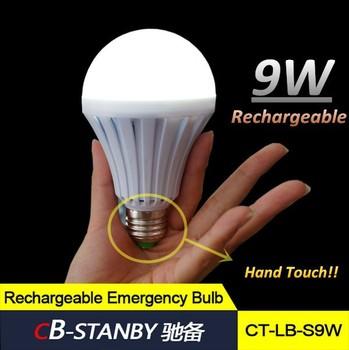 Load Shedding Home Use 5w/7w/9w/12w Rechargeable Emergencye E27 ...