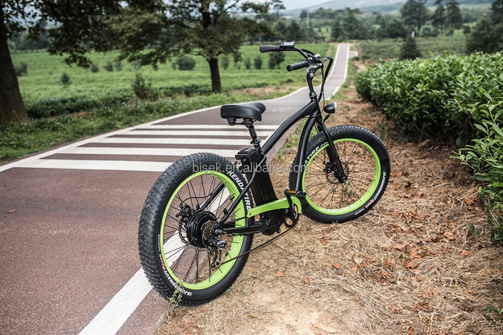 high quality 26inch fat tire pedelec with hub motor