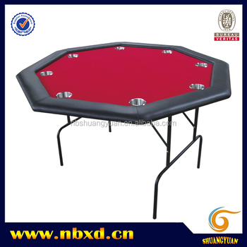 Octagon Poker Table With Legs 120