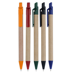 Top Quality Eco Recycled Paper Pen used for students in School