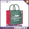 Jute Fabric Shopping Bag Jute Ladies Bag