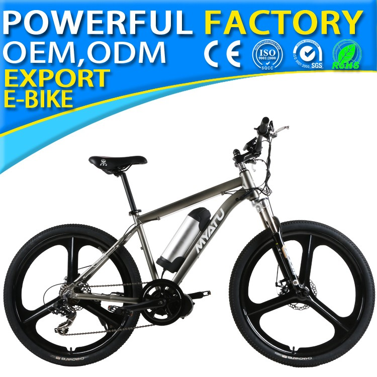 electric mountain bicycle with 26 inch 48v 350w MTB ebike mid drive motor EB26 01