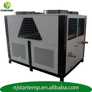 40HP Air cooled industrial refrigeration glycol water cooling chiller