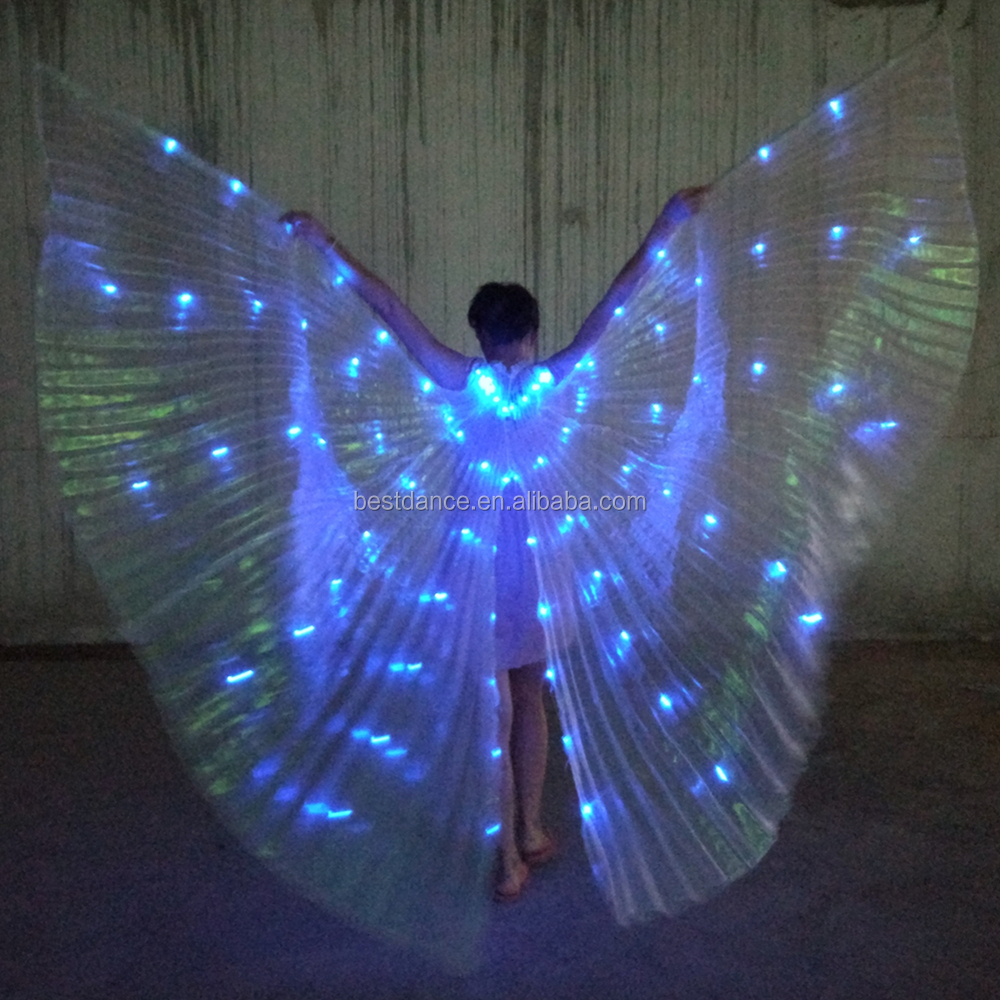 BestDance fancy party Led Isis Wings Kostuums fancy party Stage Performance Club Light Up Show Danser Festival Isis Wings Wear