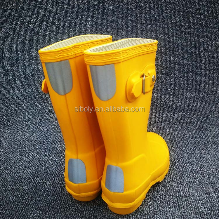2017 New Fashion Rubber Kids Rain Boots Supplier From China