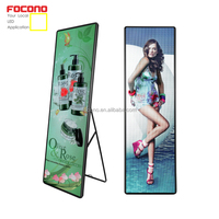 Indoor Portable Digital led screen Advertising p2.5 poster Media LED Display