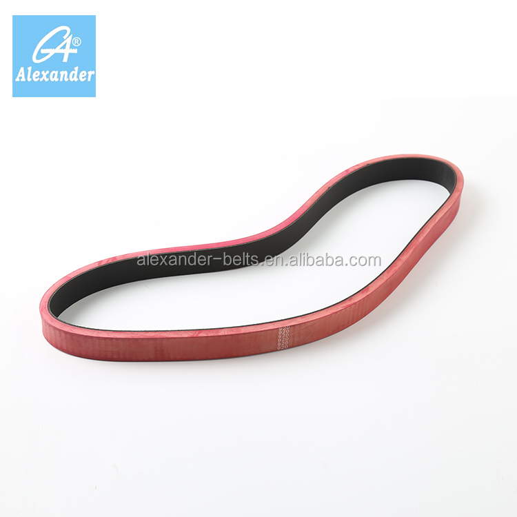 Manufacturers 3D Printer Conveyor Red Black Rubber Drive Belt