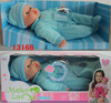 Real looking small baby dolls in Blue Clothes,10 sound talking baby doll