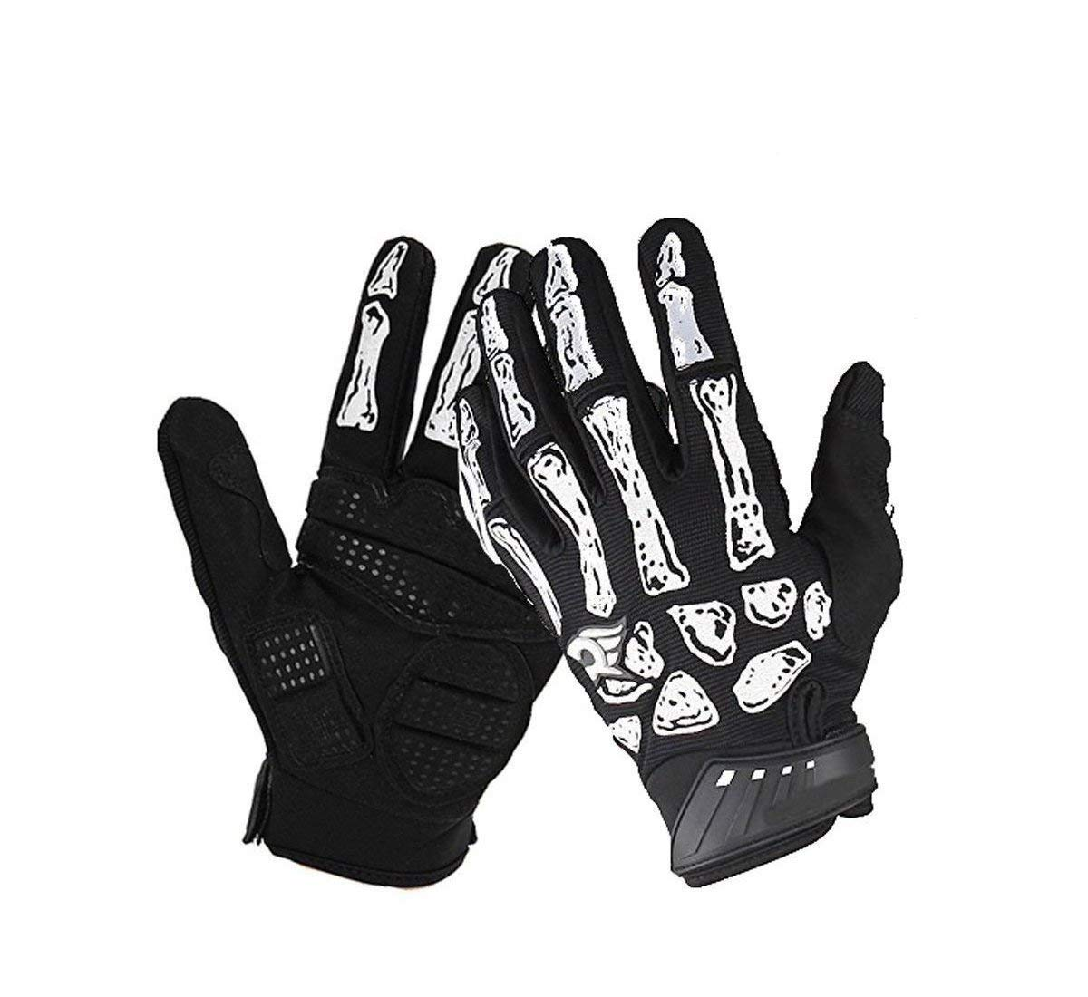 Men's Accessories Gloves Skeleton Mechanics Gloves Storage Wars Barry Weiss Style with FREE SHIPPING L XL