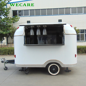China mobile coffee drink kiosk concession food van trailer