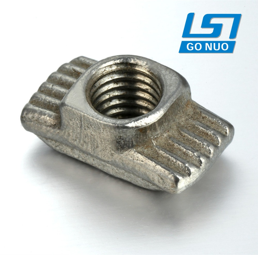 Alibaba gold supplier custom stainless steel square open welded t nut