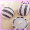 Snap fastener fabric covered button